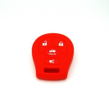 Silicone Car Key Wholesale Case bakeng sa Nissan