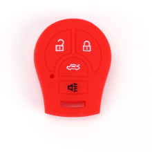 Small Nissan 4 Button Car Key Silicone Cover