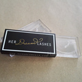 Custom made makeup packaging eyelashes box