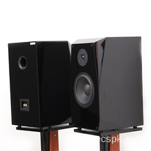 "Kotak dina High End 8 ""Piano Paint Bookshelf Speaker box"