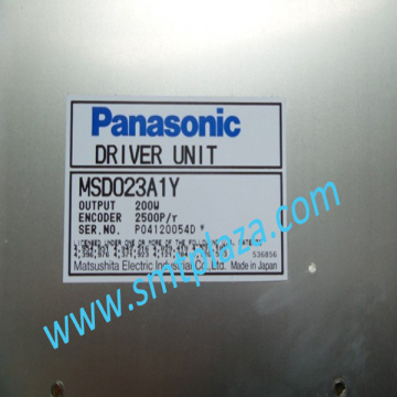 China for Other Panasonic Smt Machine Spare Parts PANASONIC SP28 DRIVER UNIT MSD023A1Y  200W export to Portugal Manufacturers