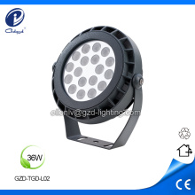 36W round Outdoor IP65 Led projector Luminaire