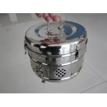 China supplier OEM for Stainless Steel Surgical Products Surgical Instruments Stainless Steel Sterilization Drum supply to Malaysia Factories