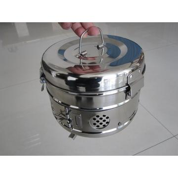 Surgical Instruments Stainless Steel Sterilization Drum
