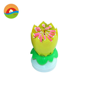 Flower Musical Birthday Candle