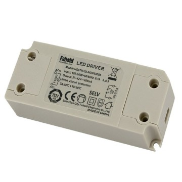 100-240VAC constant current led driver 12W