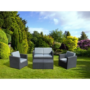 Outdoor Waterproof Furniture Patio Plastic Sofa