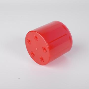 Plastic cover for butane gas bottle
