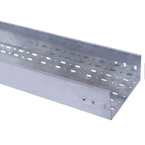 OEM Customized for Stainless Steel Cable Tray Corrosion resistance Steel Ventilated Perforated cable tray supply to Angola Factories