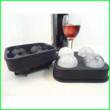 20 Years Factory for Silicone Ice Ball Maker Food grade Premium Silicone Ice Ball Mold export to Bahrain Exporter