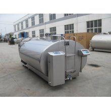 High efficiency milk cooling tank