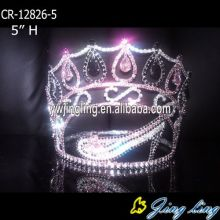 Custom Rhinestone High Shoe Pageant Crowns