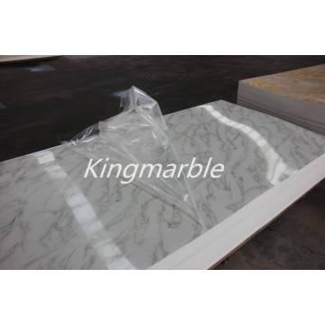 pvc artificial Decorative Marble Panel