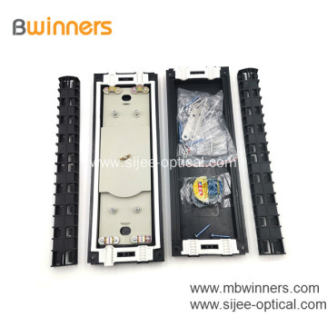 Fiber Optic Enclosure Outdoor with 2 Inlets/outlets