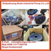 High Quality Rubber Impeller Slurry Pumps