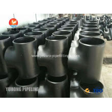 OEM/ODM China for Carbon Steel Elbow Fitting ASTM A234 WPB Equal Tee, Reducing Tee fitting SCH40 BW B16.9 , Black Painting export to Zambia Exporter