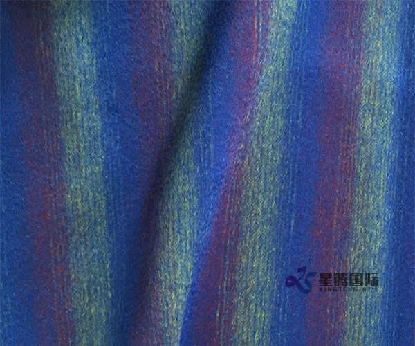 Stripe Woven 100% Wool Fabric