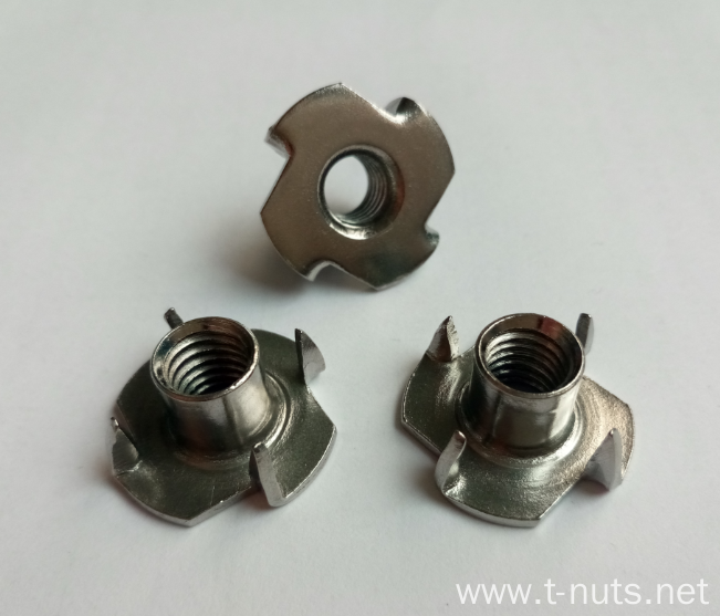 Furniture Four Pronged Tee nut