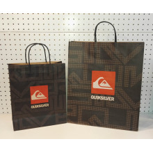 twisted handle promotional shopping bags