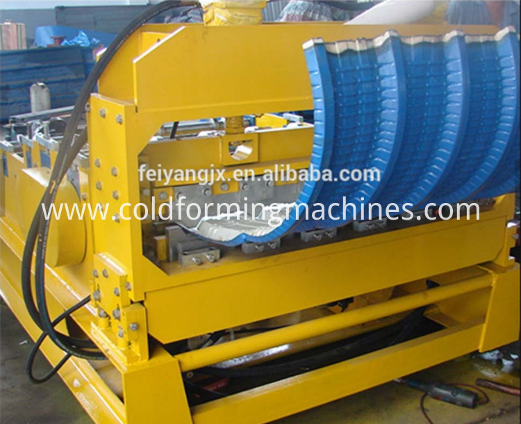 Galvanized Steel Curving Machine