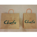 Brown Shopping Kraft Bag With Handle