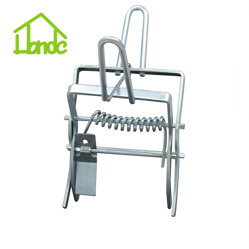 Electronic Galvanized Mole Trap With Handle