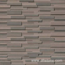Good Quality for for Natural Stone Veneer 3D Brown Natural Stacked Stone Panel supply to Italy Manufacturers