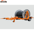 Cable Drum Trailer for Cable Transport and Pulling