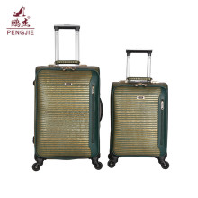 New color fabric luggage set fashion bags