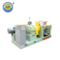 Emergency Stop Rubber Mill with Stock Blender