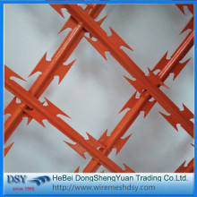 33 loops Single Coil CBT65 Razor Barbed Wire