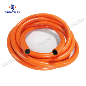 Flexible braided natural gas hose
