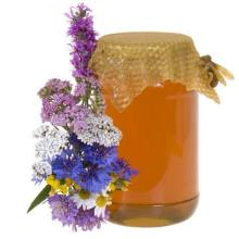100% pure natural bee honey to world