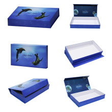 Printing Color Paper Flip Top Magnetic Closure Gift-Boxes