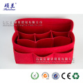 Hot selling felt cosmetic bag organizer