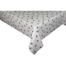 Pvc Printed fitted Fabric table covers