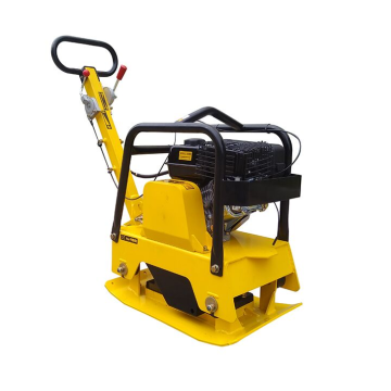 Gasoline engine vibrating forward soil plate compactor