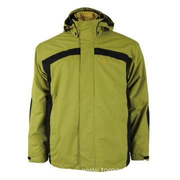 Green with black Storm Jacket