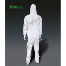 Medical disposable coverall 58 gsm