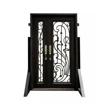 China Manufacturers for China Wrought Iron Doors,Iron Doors,Safety Wrought Iron Door Manufacturer Square Top Exterior Door export to Sri Lanka Exporter