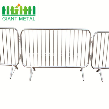 Cheap Galvanized Steel Temporary Crowd Control Barrier Fence