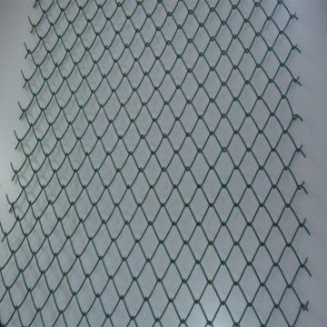 Decorative Green Chain Link Fence