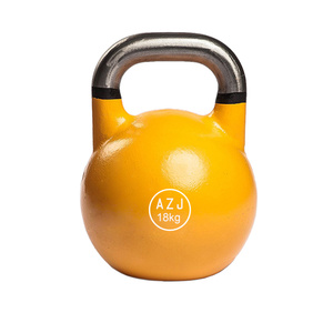 Neoprene Coated Cast Iron Kettlebell