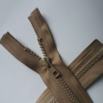 Sale11inch tight plastic zippers for jacket