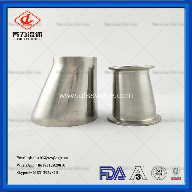 Sanitary Stainless Steel Weld Concentric Reducer