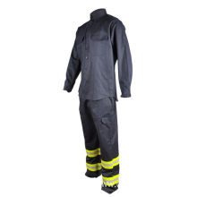 100% Cotton Fr Welding Suits Untuk Tukang Las Workwear