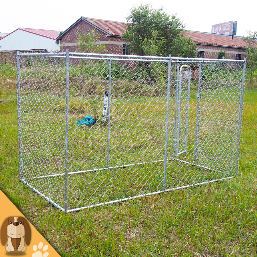 Eco Friendly Large Chain Link Pet Dog Kennel
