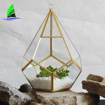 desktop hanging garden glass terrarium