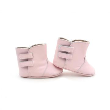 New Pink Comfortable Baby Soft leather Boot