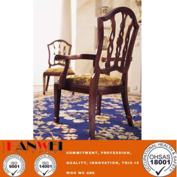 Classic Wooden Chair With Armrest